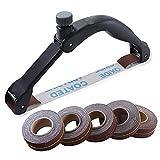 Yahunosu Handheld Bug-förmiger Sandpapierhalter Schleifen Poliergeräte Werkzeuge Einstellbarer...