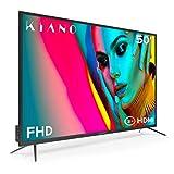 Fernseher Kiano Slim TV 127 cm [50 Zoll Full HD] (Triple Tuner, DVB-T2, CI, CI+) Multimedia ber den...