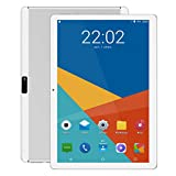 Android Tablet 10 Zoll, 5G Wi-Fi, Octa -Core Prozessor, Android 9.0, 4GB RAM, IPS HD Display, 3G...