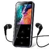 MP3 Player, 16GB Bluetooth MP3 Player mit 2.4 Zoll Bildschirm, HiFi Lossless Musik Player mit...
