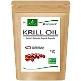 MoriVeda® Superba Premium Krillöl, 60 Kapseln mit revolutionärem Omega 3 Öl, verestertem...