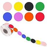 500 Stück Chroma Label Farbcode Dot Labels Aufkleber Klebende Versiegelungsaufkleber für Kinder...