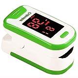 OXIMETER Smart Spo2 Fingerpuls Tragbares Haushalts-Blutsauerstoffmessgert Herzfrequenzmesser Mit...