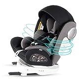 Bonio Kindersitz 360 ° Drehbar Autositz ISOFIX Gruppe 0+/1/2/3 (0-12 Jahre alt) 0-36kg mit...
