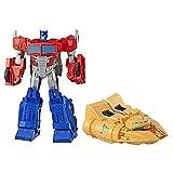 Transformers Spielzeuge Cyberverse Spark Armor Ark Power Optimus Prime, 30 cm. groe Actionfigur, ab...
