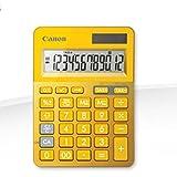 Canon 9490B006AA Tischrechner LS-123K-MYL, gelb