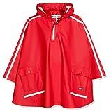 Playshoes Kinder Regencape, leichter Regenponcho, mit extra langem Rücken und abnehmbarer Kapuze,...