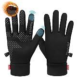 Handschuhe Herren rutschfeste Winterhandschuhe Wasserdicht Touchscreen Handschuhe Laufhandschuhe...