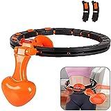 Raiodais Hula Hoop Intelligent Zähler Einstellbar Breit Hula Hoop Reifen Fitness mit Massagenoppen...