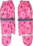 Playshoes Mädchen Matschhandschuh mit Fleece-Futter Herzchen Handschuhe, Rosa (Pink 18), 3...