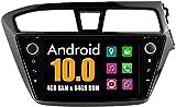 LINGJIE GPS Navigation Stereo für Hyundai I20 2015 Android System Auto DVD Radio Bluetooth USB...