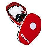 Kaiten Pratzenset mit abnehmbarem Handschuh weiß-rot