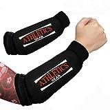 Athletics Gear Unterarmschützer (Paar) – MMA Box-Bandage Sleeve Guards, EVA-Schaum-Polsterung...