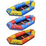 GUOE-YKGM Kayak Excursion Schlauchboot-Set Mit Aluminiumrudern Und 2 Aufblasbaren Sitzkissen...