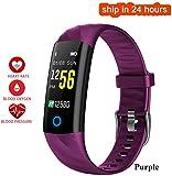 Drohneks S5 IP68 Wasserdicht Herzfrequenz Smart Armband Blutdruck-Sauerstoffmonitor Farbdisplay...