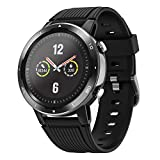 Letsfit Smartwatch, Sportuhr, GPS-Uhr Fitness Armband 1,1 Zoll Farbtouchscreen Laufuhr mit...