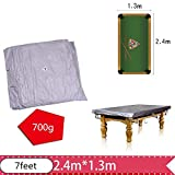 Centeraly Billardtischabdeckung, staubdicht, Pooltischabdeckung mit Zugband fr Snookertisch, 3 m