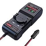 300W KFZ Spannungswandler 12V 24V auf 230V Wechselrichter Auto Stromwandler Inverter Autoadapter mit...