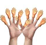 Yolococa Tiny Hands Kleine Hände Fingerpuppen Linke und Rechte Hand Zaubertricks für Familie...