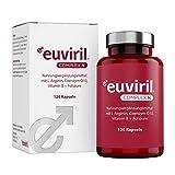 Euviril Complex N - Mit L-Arginin, Coenzym Q10, Vitamin B + Folsäure - 120 Kapseln