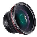 Neewer 58mm 0,43X HD Weitwinkelobjektiv mit Makro Nahaufnahme Portion Linse für Canon EOS 700D 650D...