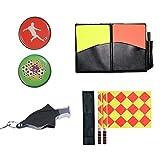Firelong Set aus Flaggen und Karten für Fußball, rote Karte, gelbe Karte, für Fußballspiel,...