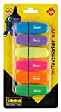 Idena 10490 Texmarker Mini, 6 Farben, 6 Stck