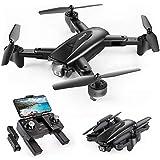 SNAPTAIN SP500 Faltbare GPS FPV Drohne mit 1080P Full HD Kamera-Live-Video, GPS Drohne mit...