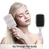 Botanische Haarbürste beste Entwirrungsbürste für alle Haartypen, nass oder trocken, für alle...
