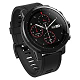Xiaomi Amazfit Stratos Smartwatch mit GPS und Herzfrequenzsensor, wasserdicht 5 ATM, Schwarz...