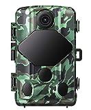 usogood 20MP Wildkamera mit Infrarot Nachtsicht 1080P Wildtierkamera mit 120° Weitwinkel Vision,...