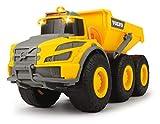 Dickie Toys 203723004 Gelenkschlepper-203723004 Volvo Knickgelenkter Dumper, Kipper, Muldenkipper,...