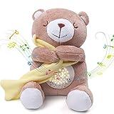 Umitive Einschlafhilfe für Babys, Plüsch Baby Spieluhr, Sound Toys, tragbar mit 15 Musik, 5 Farben...