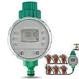 infinitoo Digitaler Wasser Timer, Automatische Bewässerungsuhr IP68 Wasserdichter mit...