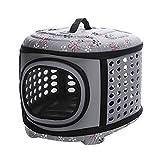 XUJIE Hundebox Faltbare Hundetransportbox Haustier Transportbox,für Haustiere,Kleine Tiere,46 * 35...