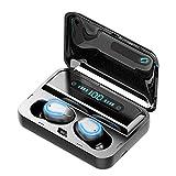 Mini Earbuds Noise Reduction Invisible In-Ohr Kopfhörer wasserdichte freihändig Doppel-Kopfhörer...