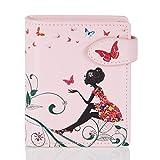 Shagwear Portemonnaie Geldbörse für junge Damen, Mädchen Geldbeutel Portmonaise Designs:,...