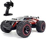Lotees 1/14 Fernbedienung Elektro-Auto-RC Car Big Foot RC Crawler RC Offroad-Auto 2.4G 2WD RC LKW...