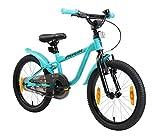 LÖWENRAD Kinderfahrrad für Jungen und Mädchen ab 5 Jahre   18 Zoll Kinderrad mit Bremse   Fahrrad...