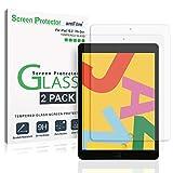 amFilm Panzerglas Displayschutzfolie fr iPad 10.2 (2 Stck), Panzerglas (Gehrtetem Glas) Schutzfolie...