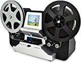SUPER 8 Normal 8 Filmscanner mit 2,4' LCD und 32 GB SD-Karte, Super 8 Filme digitalisieren