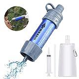 Etmury Wasserfilter Outdoor ,Mini Wasserfilter für Outdoor Camping ,Outdoor...