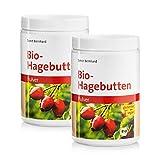 Sanct Bernhard Bio-Hagebutten Pulver, kalorienreduziert, mechanische Pressung, glutenfrei, vegan,...