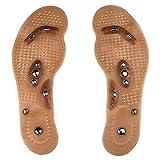 QiKun-Home 8 Partikel Magnet Massage Einlegesohlen zur Gewichtsreduktion Fußmassage...