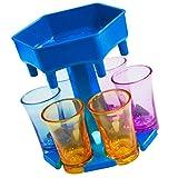 Cabilock 6 Schnapsglasspender Und Halterspender zum Befüllen von Flüssigkeiten...