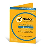 Norton Security Deluxe Antivirus Software 2018 / Anti-Virus Protection for 3 Devices (One-Year...