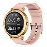 XWZ Intelligente Uhr, Fitness-Tracker mit Schlafmonitor Smart Watch Bluetooth Anruf Music Player...