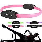 MSPORTS Pilates Ring Premium I Widerstandsring - Doppelgriff Pilates Yoga Ring 38 cm bungskreis...