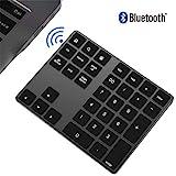 ZXX. Bluetooth-Nummernblock, tragbares Slim34-Tasten-Tastenfeld für die Dateneingabe in der...