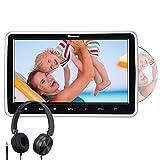NAVISKAUTO 10,1' Zoll Auto Monitor DVD Player HDMI IN HD Bildschirm mit KFZ Kopfstützenhalterung...